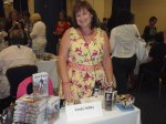 Cindy Holby at the book signing