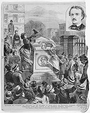 180px-Poe_Grave_at_Westminster_1