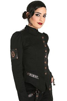 Hot topic steampunk jacket