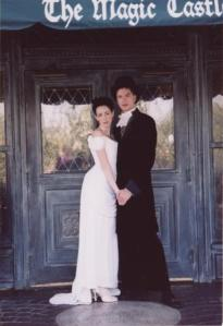 my wedding at the Magic Castle, Hollywood, CA September 2003