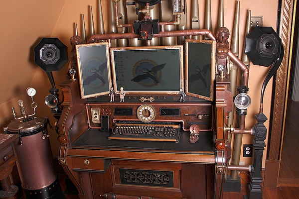 Now this is a garage architecture and style pinterest - Gallery For Gt Simple Steampunk Desk