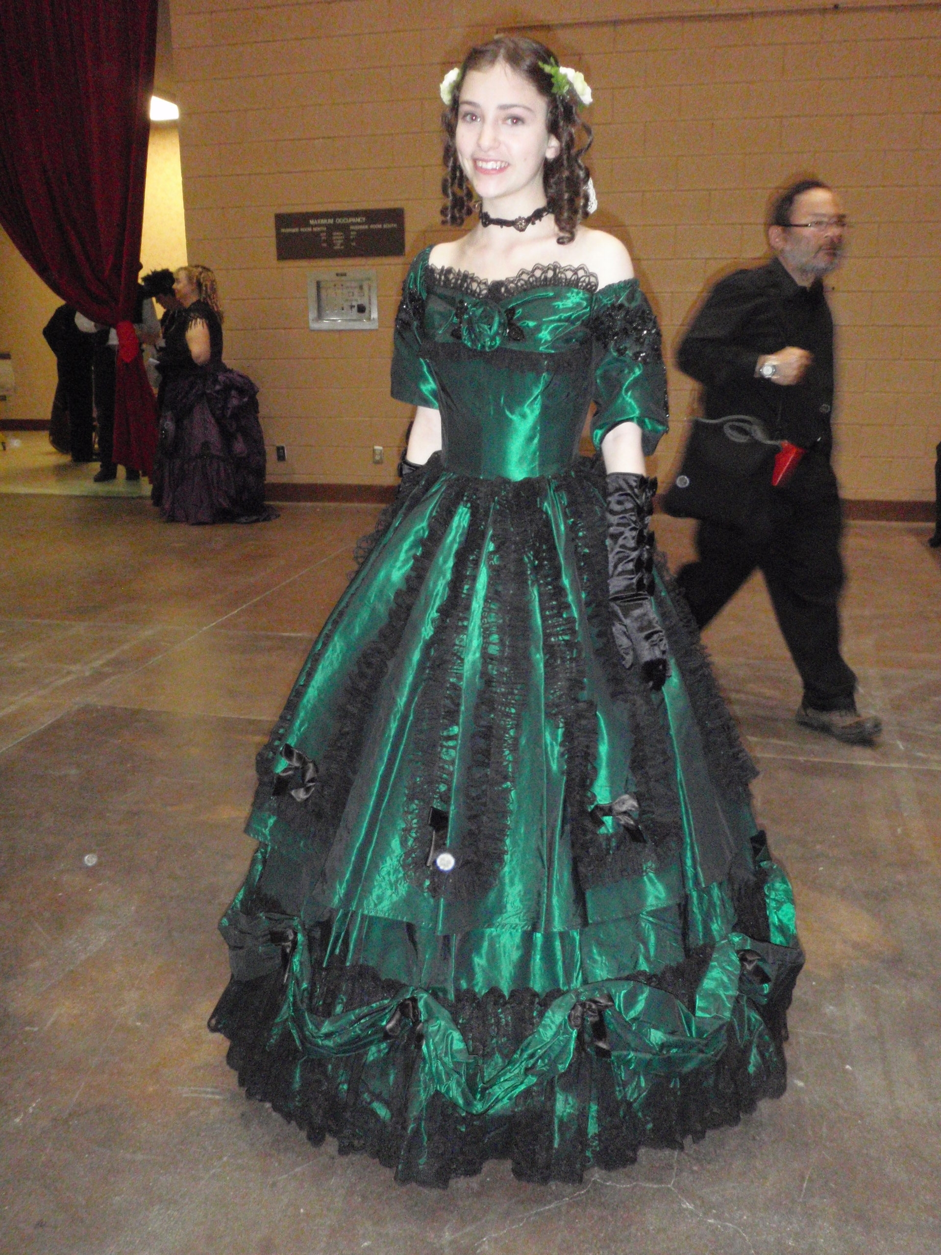steampunk ball gown | STEAMED!