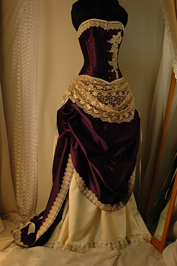 Steampunk fashion steamed for Where can i get my wedding dress steamed