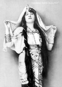 Constance Collier as Iras in Ben Hur, 1902