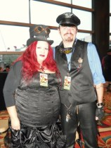 Steampunk Sweethearts - Comicpalooza 2013