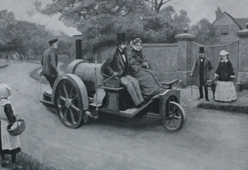The Rickett Carriage Steamed