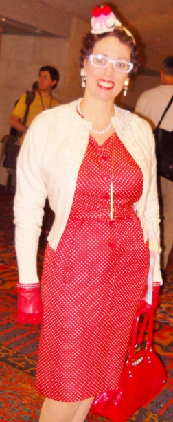 Gail Carriger at Lone Star Worldcon 2013
