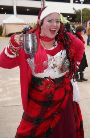 A Little Elf Punk at Steampunk Square